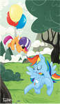 Training Balloons by sofas-and-quills