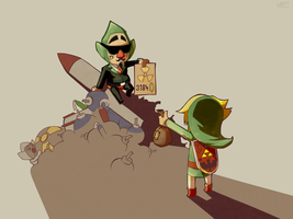 Scumbag Tingle by LoftyAnchor