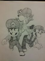 mario by chriscarter142