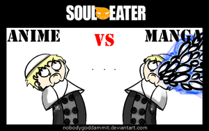 Soul Eater Anime vs. Manga : Justin by nobodygoddammit