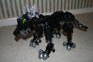 Bionicle MOC: Wolf Pup by Rahiden