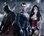 Batman v Superman: Dawn of Justice by renstar71