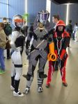 Mass Effect girl trio MCM Oct '12 by KaniKaniza