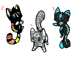 Kitten adoptables batch 6 by Apriifox