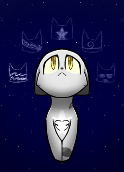 Stars by Spottedtail-Cat-Art