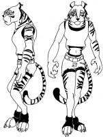 Talisa the Tigress by psychedashell