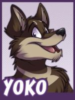 Badge for Yoko by zillabean