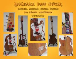 Applejack Bass Guitar by Phoenix0117