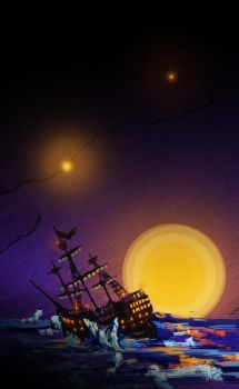 I Sailed Away From Here by SquirrelGutz