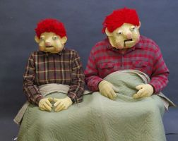 Podge and Rodge by FrockTarts