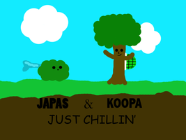 Japas and Koopa by piccolofan37