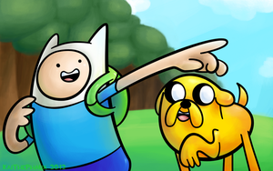 It's Adventure Time! by KaiThePhaux