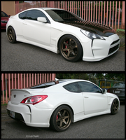 customized Hyundai Genesis by Mister-Lou