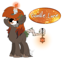Candle Lure by TheeEbonySouls