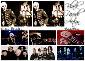 Black Parade action by BeautyBlinds