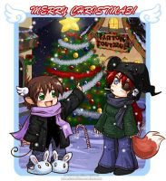 Gaian Christmas by celesse