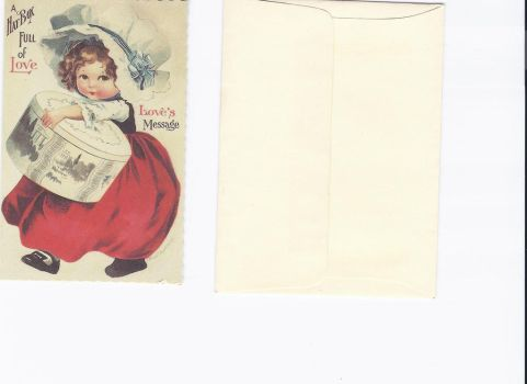 old Victorian type card by MLeighS