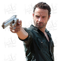 The Walking Deads Rick Grimes by MizzPLM