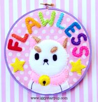 Bee and Puppycat Flawless Hoop by iggystarpup