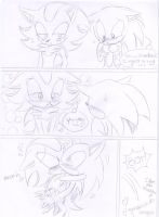 Sonadow comic - I want a hug by kiiyup0p