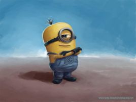 Minion Fanart by Alleypeep
