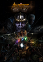 AVENGERS 3: Infinity War fan made poster by DarthDestruktor