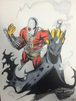 Deadshot ChrisStaggs Colors Inks JeremyScully by Drakelb