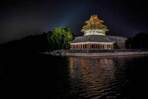 Forbidden City at Night Time by Studio5Graphics