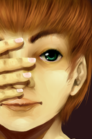 Realistic Boy Face by FreewolfD