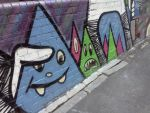 Graffiti Shapes with faces by countercharm