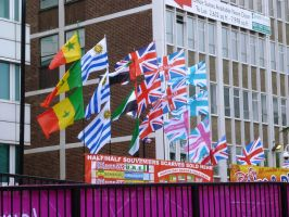 Flags for the Football by ggeudraco