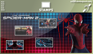 Stamps - 2014 - The Amazing Spider-Man 2 by od3f1