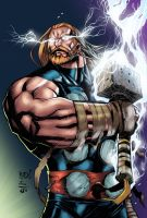 Joe Mad's Thor - BA Color Entry by TrinityMathews