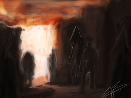 Silent hill speed paint by Galvin-wolf