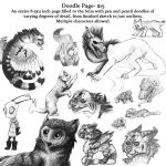 Doodle Page(closed) by Octobertiger