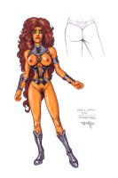 Erotic Earth Starfire by TCatt