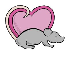Ratty Love by CaperGirl