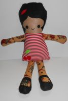 CM: Tattooed Rag Doll by kiddomerriweather