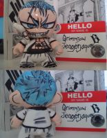 Munny: Grimmjow by ScarecrowArtist