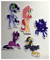 $10 MLP five sticker set by spacekitsch