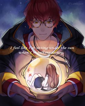 Mystic Messenger 707 - Like the sun by Ice-mugan