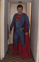 Man of Steel costume 2 by Kryptoniano