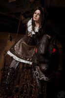 Alice Liddell (Steamdress) | American McGees Alice by Quicky81