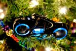 Tron Light Cycle Ornaments III by LDFranklin