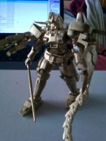 Golden Tallgeese III Trophy by GriffithAzure