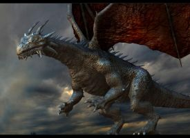 ZBrush dragon concept TLG  Project by rich35211