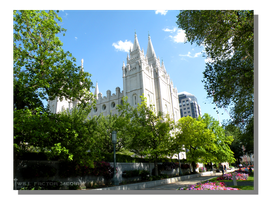 LDS Salt Lake City Temple by WillFactorMedia