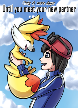 6 Days Until Pokemon X and Y! by PrinceofSpirits