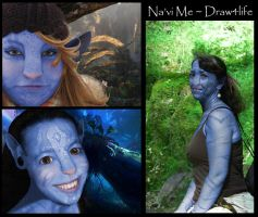Na'vi Me collage by Draw4life