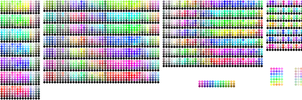 Custom Ame's Color Palettes by Amela-xD